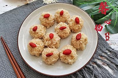 #以美食的名义说爱她#㊙️吉祥菜珍珠丸子的家常做法‼️