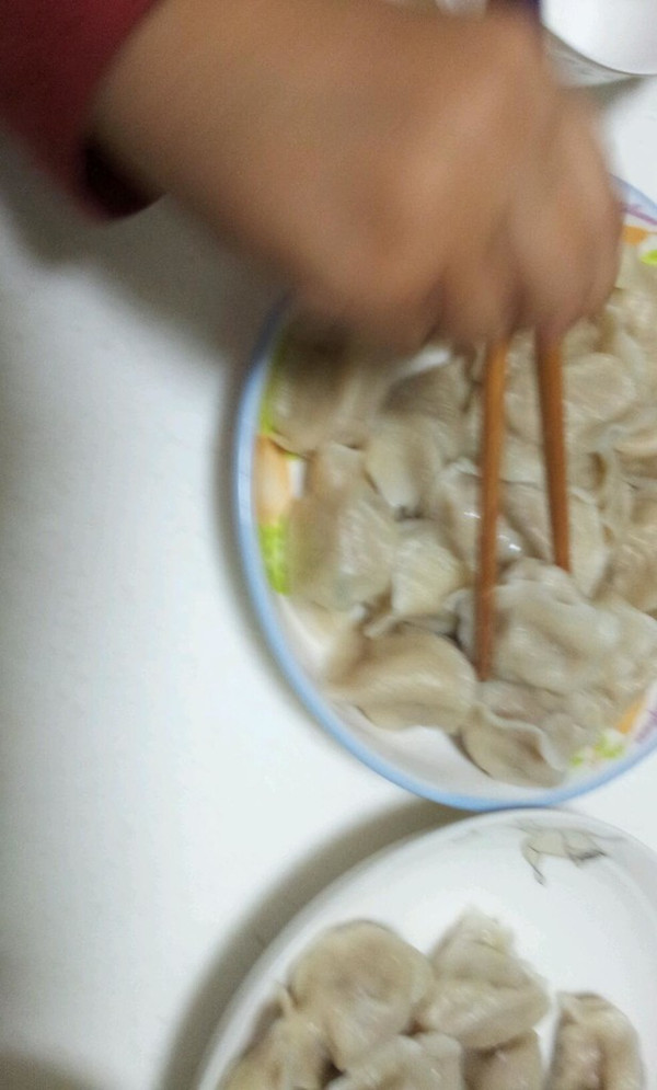 莲藕猪肉水饺的做法