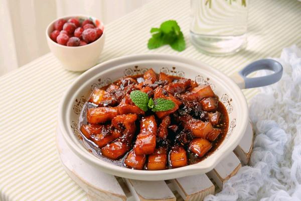 蔓越莓糖醋五花肉的做法