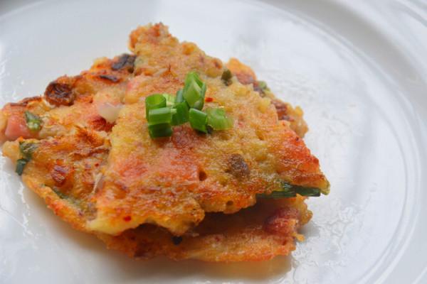 简易韩餐之泡菜煎饼的做法