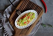 清炒圆白菜#中式减脂餐#的做法