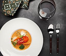 【鹦鹉厨房】法式传统龙虾浓汤的做法