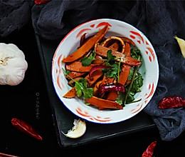 #精品菜谱挑战赛#凉拌鸡蛋干(自制鸡蛋干)的做法