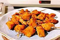 #尽享安心亲子食刻#低脂无油~香辣炸鸡块的做法
