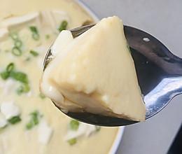 内脂豆腐蒸蛋羹的做法