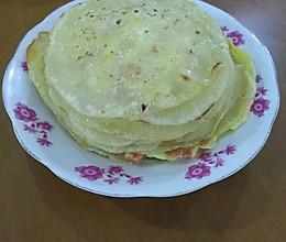 饺子皮鸡蛋煎饼的做法