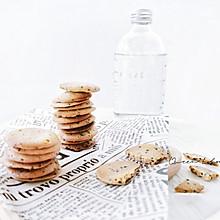 椰香芝麻脆饼