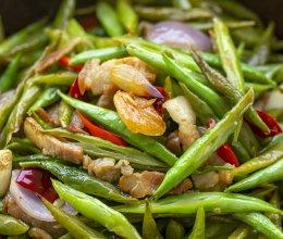 砂锅四季豆|清爽多汁的做法