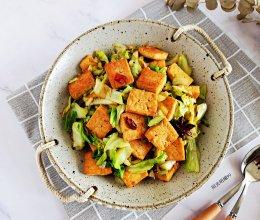 豆腐烧包菜的做法