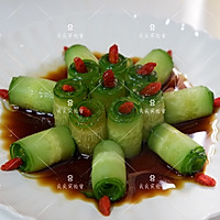响油黄瓜,快手宴客菜#新年开运菜,好事自然来#的做法图解10