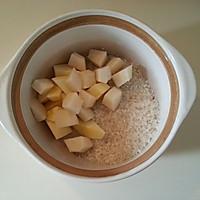 砂锅水果粥的做法图解1