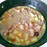 鸭翅根炖土豆的做法图解4