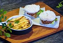 日式米汉堡的做法