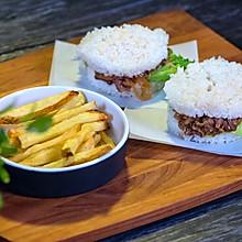 日式米汉堡