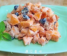 金枪鱼什锦水果沙拉的做法