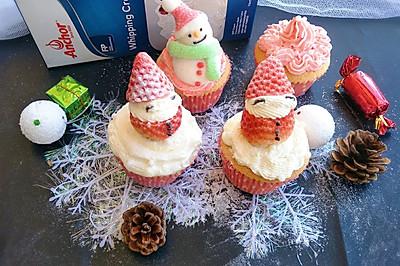 圣诞杯子海绵蛋糕