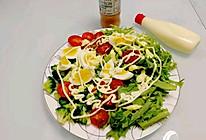#321沙拉日#减脂的蔬菜沙拉的做法