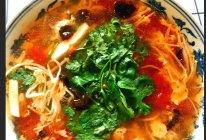 #名厨汁味,圆中秋美味#味达美酸辣汤的做法