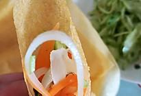 夏季清爽早餐-蔬菜卷煎饼的做法