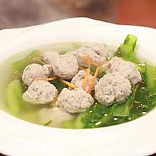 《回家吃饭》麻油小白菜肉丸汤