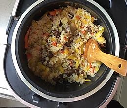 新疆手抓饭(牛肉,电饭锅版)的做法