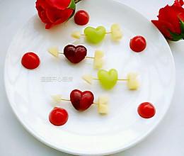水果拼盘-一箭穿心#春天不减肥,夏天肉堆堆#的做法
