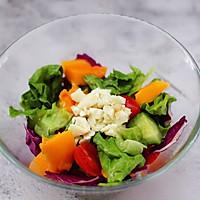 #精品菜谱挑战赛#蒜香沙拉时蔬水果的做法图解10