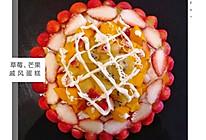 【草莓、芒果、戚风蛋糕】的做法