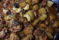 土豆鲍鱼炖鸡腿的做法