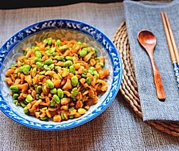 萝卜干炒毛豆的做法