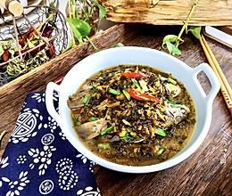 #今天吃什么#鲜美下饭野生鲫鱼烧咸菜的做法