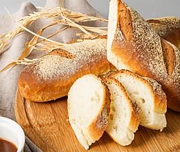 牛奶咸面包的做法