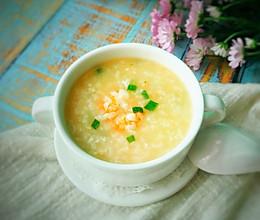 #换着花样吃早餐#鲜虾粥的做法