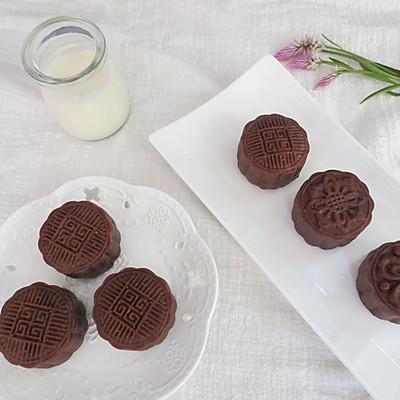 巧克力莲蓉月饼