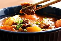 #我们约饭吧# 番茄土豆炖牛腩,有了它我可以吃3碗饭!的做法