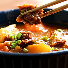 番茄土豆炖牛腩,有了它我可以吃3碗饭!