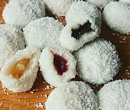 水果糯米糍懒人速成版(草莓,菠萝,麻心)的做法