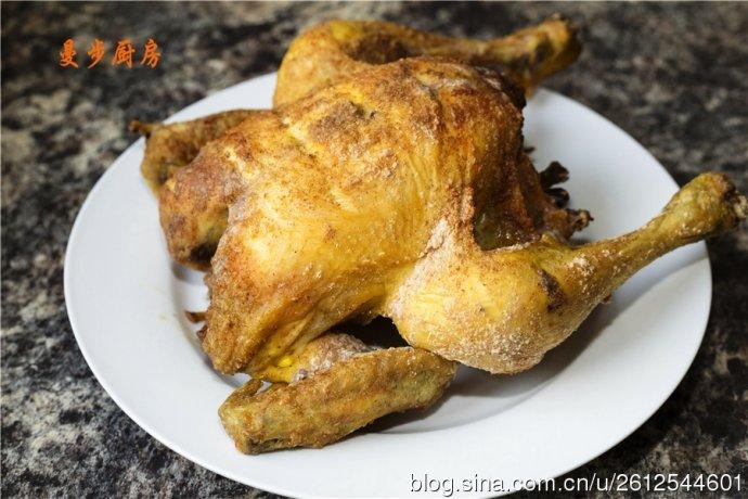 曼步厨房 - 秘制烤鸡