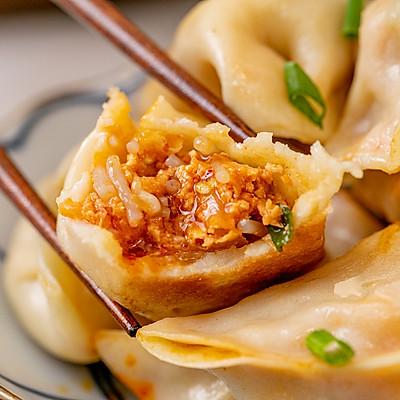 韩式泡菜饺丨酸辣多汁