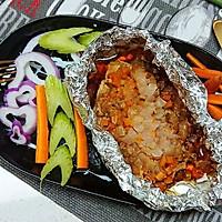 减脂餐西餐-锡纸焗烤鸡胸肉鸡排低卡低脂健身-蜜桃爱营养师私厨