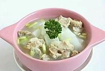 猪蹄茭白汤的做法