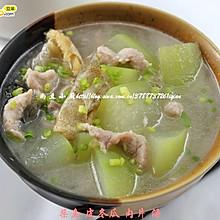 柴鱼皮冬瓜肉片汤