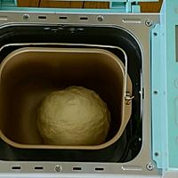 雪花手撕面包的做法图解2