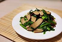韭菜炒鸡蛋干(最简单好吃的菜)的做法