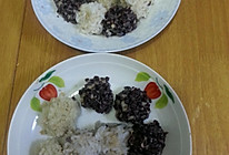 三色珍珠豆腐丸子的做法