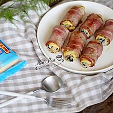 培根芝士海苔饭团#百吉福食尚达人#
