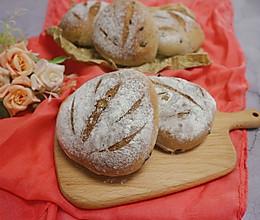 蔓越莓蜂蜜乳酪面包(手揉法)的做法