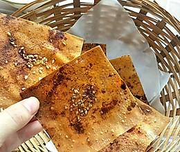 不需要油炸的脆饺子皮的做法