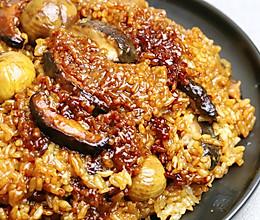 板栗糯米鸡的做法