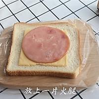 元气早餐:小熊三明治的做法图解3